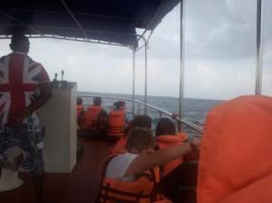 Szabadprogram: kihajózunk