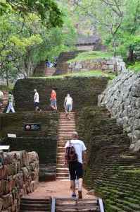 Sigiriya: sziklapalota
