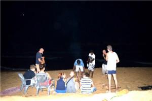 Szülinap, grillezés, tengerpart