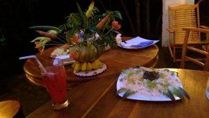 Fogadó vacsora a szálláson Sigiriyában (Fotó: Hárs Anna)