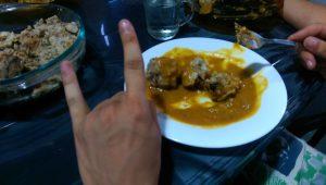 Srí Lankán felértékelődik a magyar étel. Vadas Éva konyhájából. Metááál! :)